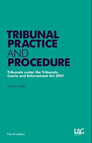Bog, paperback Tribunal Practice and Procedure af Edward Jacobs