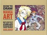 How to Draw Manga Art. Ashe Raven