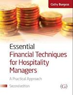 Essential Financial Techniques for Hospitality Managers af Cathy Burgess