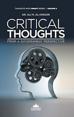 Critical Thoughts from a Government Perspective af Ali M. Al-Khouri