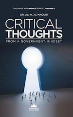 Critical Thoughts from a Government Mindset af Ali M. Al-Khouri