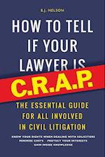 How to Tell If Your Lawyer Is C.R.A.P.