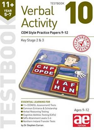 11+ Verbal Activity Year 5-7 Testbook 10 af Stephen C. Curran