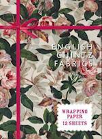 English Chintz Fabrics (Wrapping Paper Books)