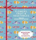 Flowers, Fruit & Vegetables from the Natural History Museum (Wrapping Paper Books)