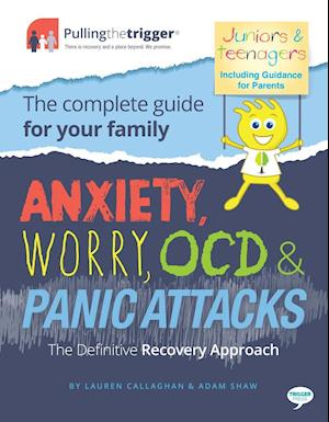 Bog, paperback Anxiety, Worry, Ocd & Panic Attacks af Lauren Callaghan