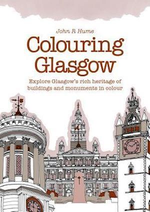 Bog, paperback Colouring Glasgow af John R. Hume