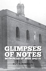 Glimpses of Notes