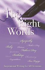 The Right Words (Ed.3) af Rose Welling