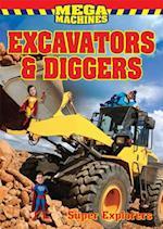 Excavators & Diggers (Super Heroes)