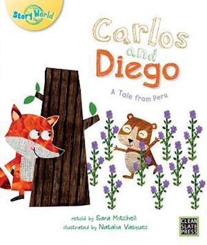 Bog, paperback Carlos and Diego (Big Book Edition) af Sara Mitchell