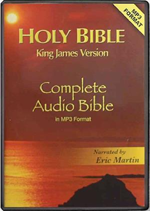 Lydbog, CD Holy Bible af Eric Martin
