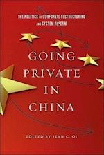Going Private in China af Jean C. Oi