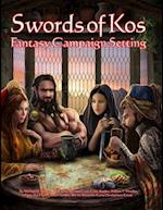 Swords of Kos Fantasy Campaign Setting (Color)