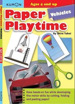 Bog, paperback Kumon Paper Playtime: Vehicles af Kumon Publishing