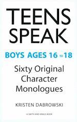Teens Speak Boys Ages 16 to 18 af Kristen Dabrowski