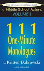 Ultimate Monologue Book for Middle School Actors Volume I af Kristen Dabrowski