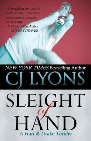 SLEIGHT OF HAND: A Hart and Drake Thriller af CJ Lyons
