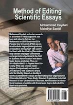 Method of Editing Scientific Essays