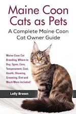 Maine Coon Cats as Pets