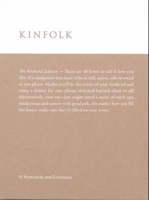 Kinfolk Notecards af Various