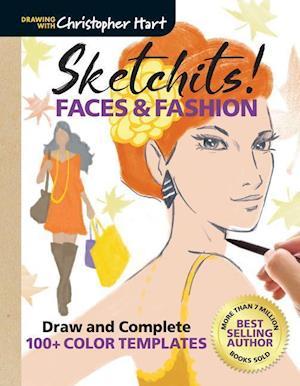 Bog, paperback Sketchits! Faces & Fashion af Christopher Hart