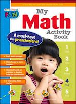 My Math Activity Book (Preschool Fun)