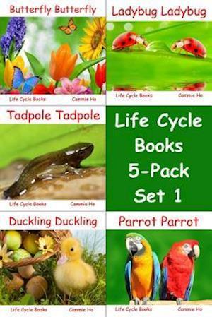 Bog, hardback Life Cycle Books 5-Pack Set 1 af Cammie Ho