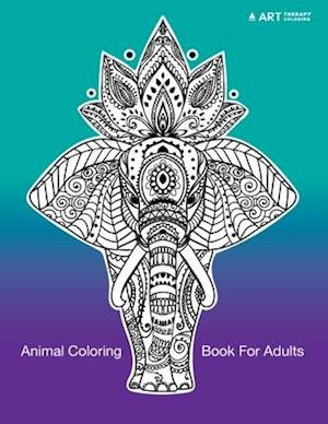 Bog, paperback Animal Coloring Book for Adults af Art Therapy Coloring