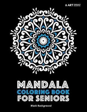 Bog, paperback Mandala Coloring Book for Seniors af Art Therapy Coloring