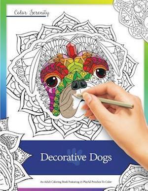 Bog, paperback Decorative Dogs af Mike Roy