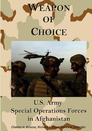 Bog, paperback Weapon of Choice af Charles H. Briscoe