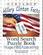 Circle It, Hillary Clinton Facts, Word Search, Puzzle Book
