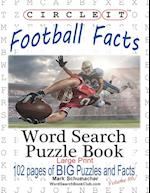 Circle It, Football Facts, Word Search, Puzzle Book