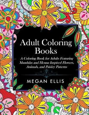 Bog, paperback Adult Coloring Books af Megan Ellis, Coloring Books for Adults