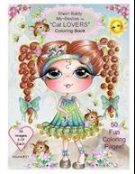 Sherri Baldy My-Besties Cat Lovers Coloring Book