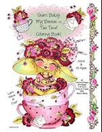 Sherri Baldy My-Besties Tea Time Coloring Book