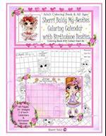 Sherri Baldy My Besties Coloring Calendar with Birthstone Besties Coloring Book