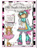 Sherri Baldy My Besties Little Dimples Coloring Book