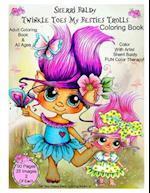 Sherri Baldy Twinkle Toes My Besties Trolls Coloring Book