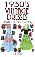 1930's Vintage Dresses Travel Edition