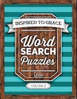 Inspired to Grace Word Search Puzzles