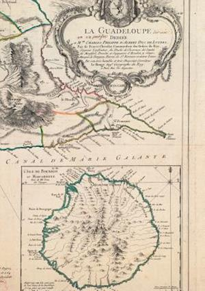 Carnet Blanc Carte de La Guadeloupe, Le Rouge, 1753 af Le Rouge-G