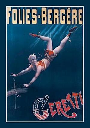 Bog, paperback Carnet Ligne, Folies-Bergere. Ceretti