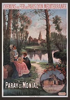 Bog, paperback Carnet Blanc, Chemin de Fer Paris-Lyon