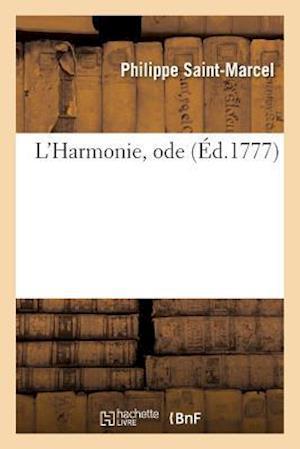 Bog, paperback L'Harmonie, Ode