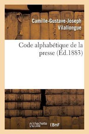 Bog, paperback Code Alphabetique de La Presse