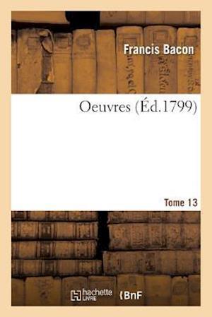 Bog, paperback Oeuvres Tome 13