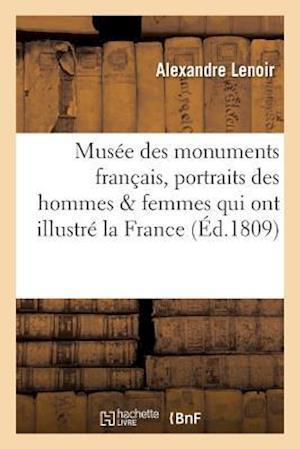Bog, paperback Musee Des Monuments Francais . Recueil de Portraits Inedits Des Hommes Et Des Femmes