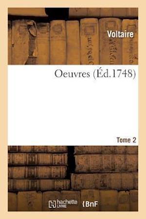 Bog, paperback Oeuvres. Tome 2 af Voltaire